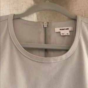 Helmut Lang beautiful gray dress is size 10
